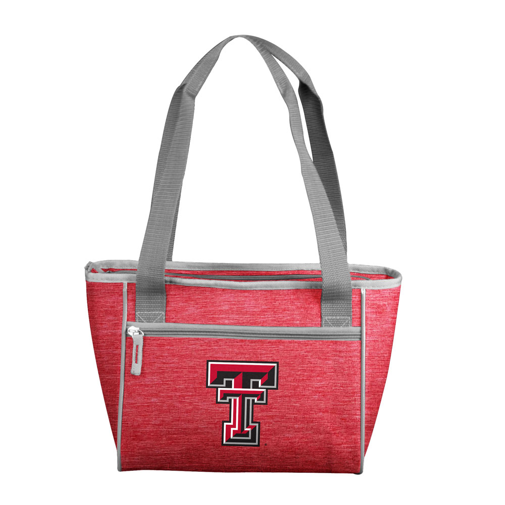 Texas Tech Red Raiders Crosshatch 16 Can Cooler Tote