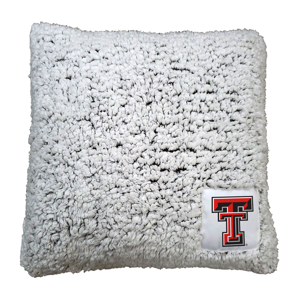 Texas Tech Red Raiders Frosty Throw Pillow