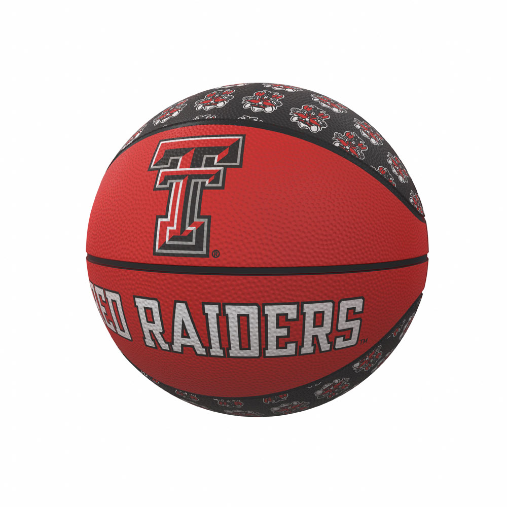 Texas Tech Red Raiders MINI Size Rubber Basketball
