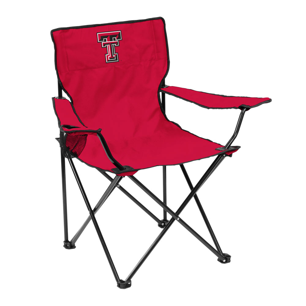 Texas Tech Red Raiders QUAD style logo folding camp chair