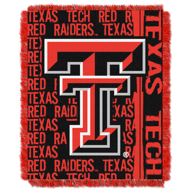 Texas Tech Red Raiders Double Play Tapestry Blanket 48 x 60