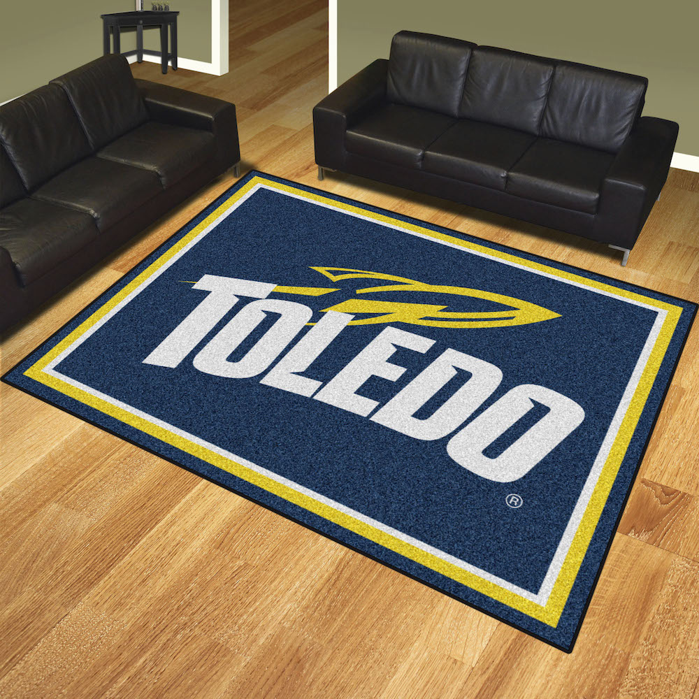 Toledo Rockets Ultra Plush 8x10 Area Rug