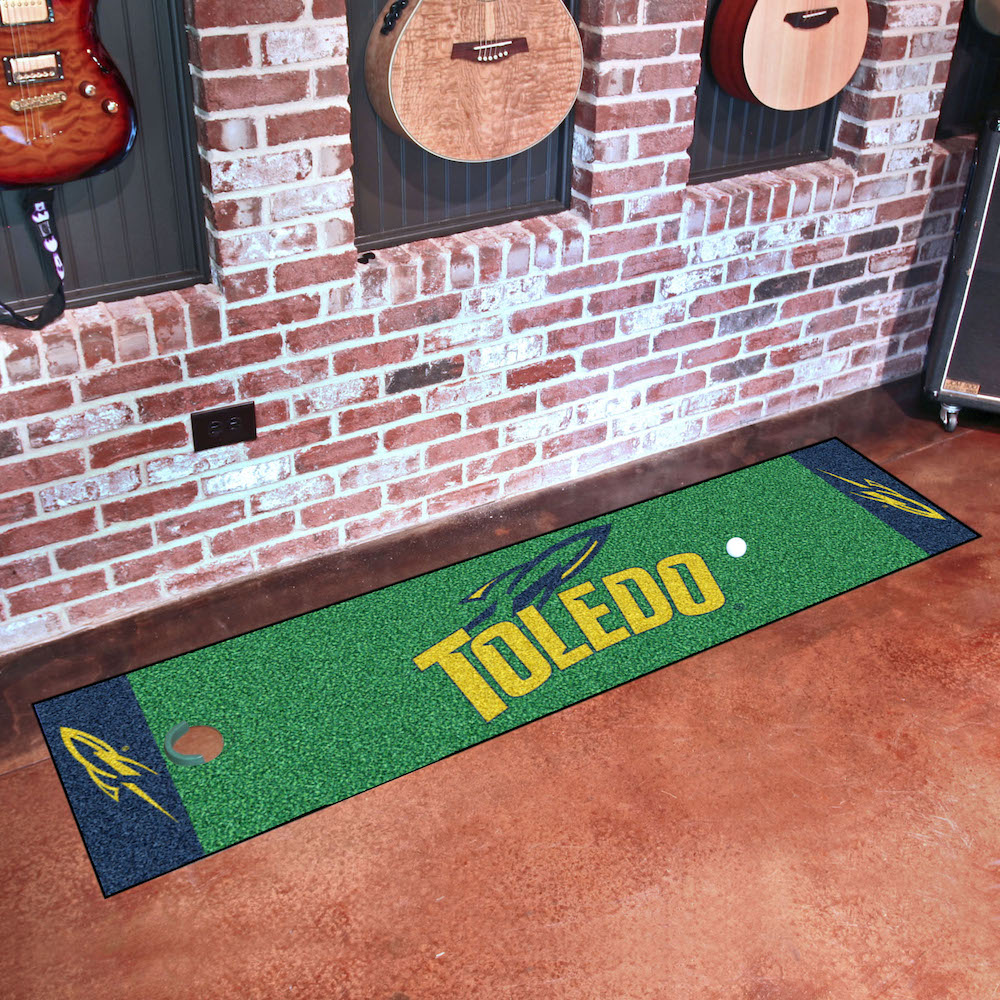 Toledo Rockets Putting Green Mat 18 x 72