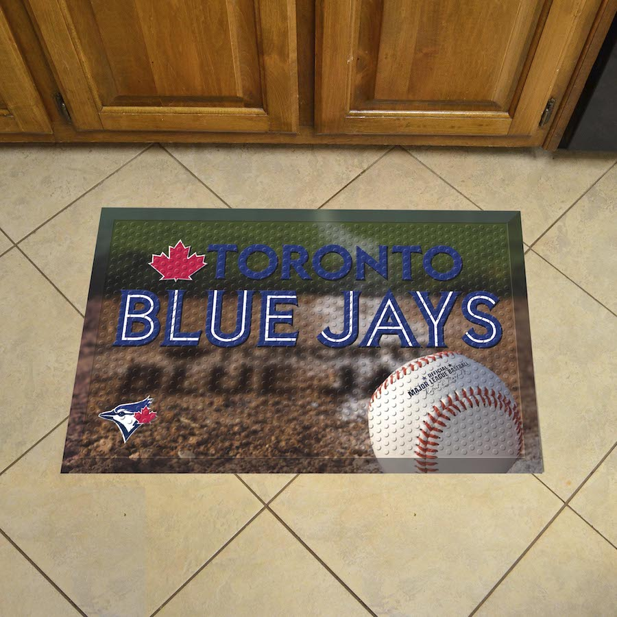 Toronto Blue Jays Ball Style SCRAPER Door Mat