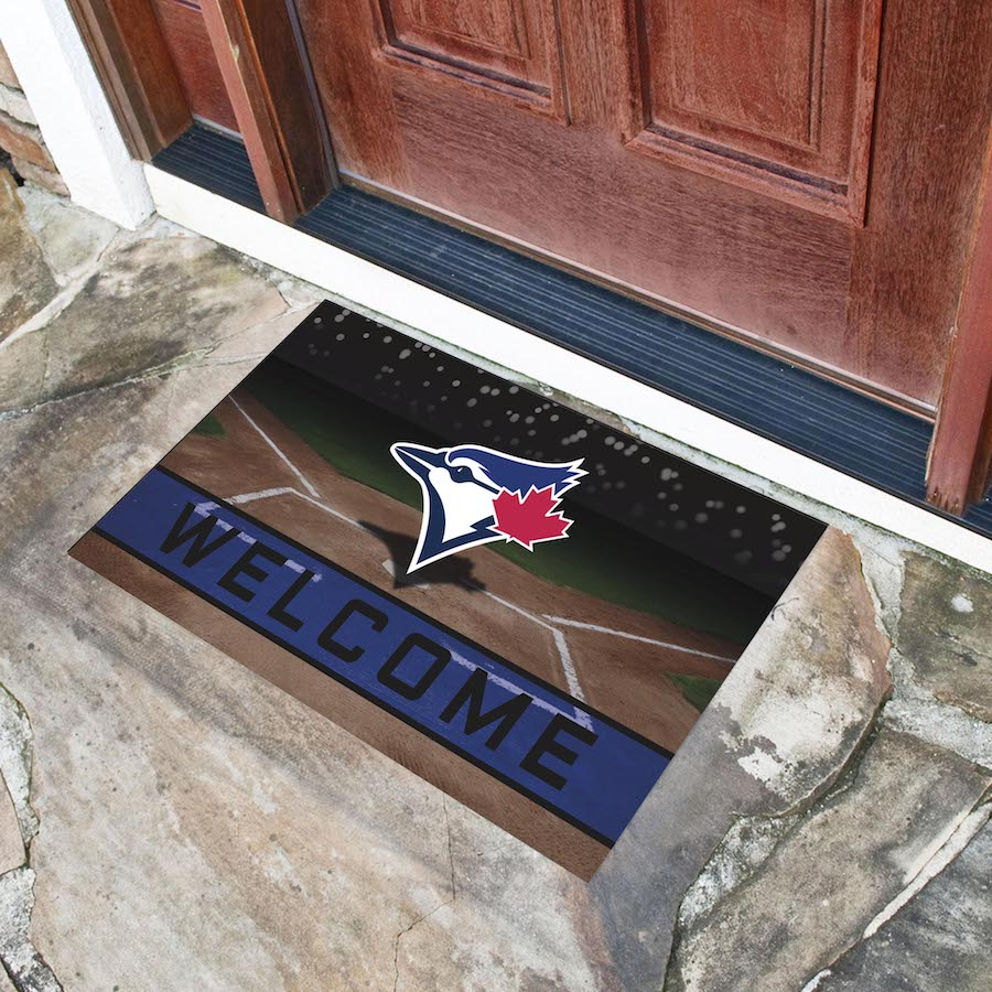 Toronto Blue Jays Recycled Crumb Rubber Door Mat