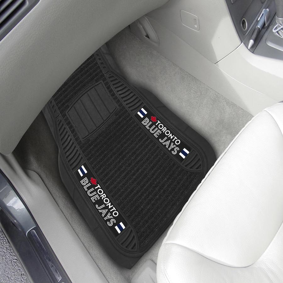 Toronto Blue Jays Deluxe 20 x 27 Car Floor Mats