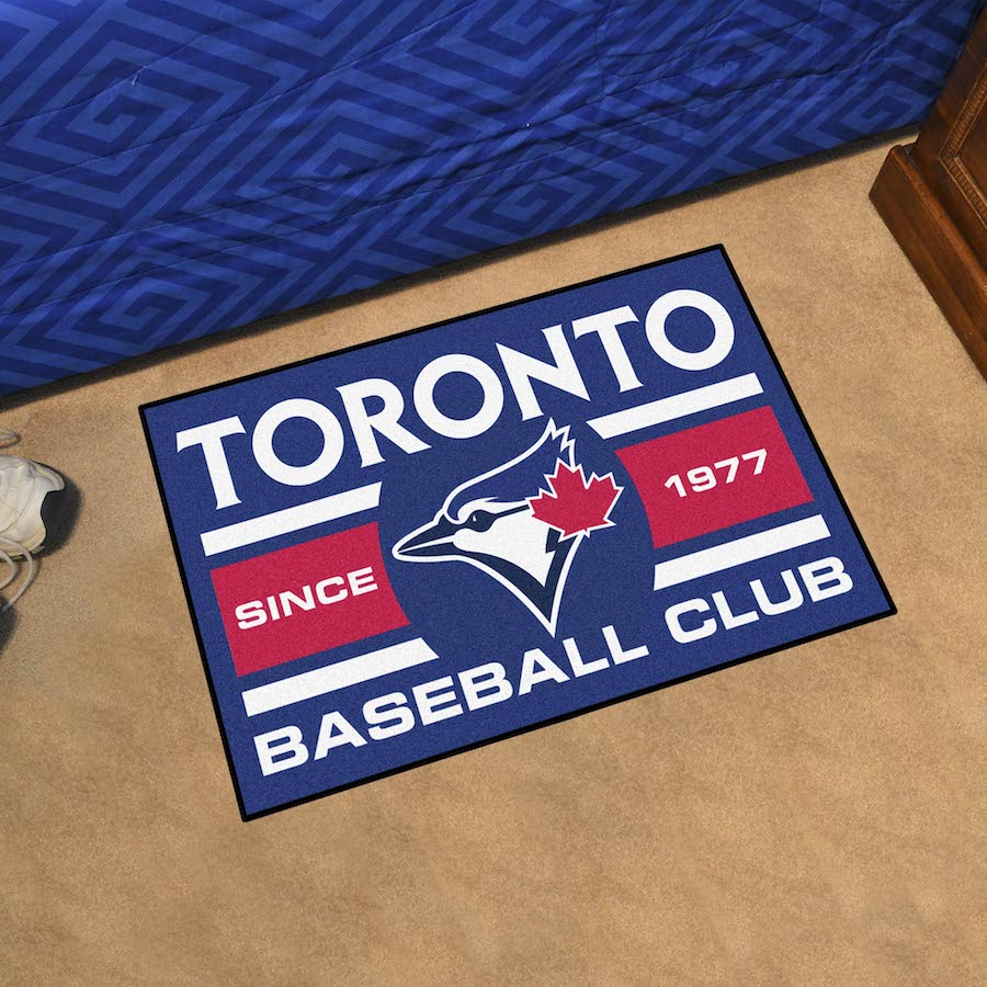 Toronto Blue Jays 20 x 30 Uniform STARTER Floor Mat