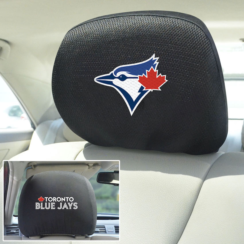 Toronto Blue Jays Head Rest Covers