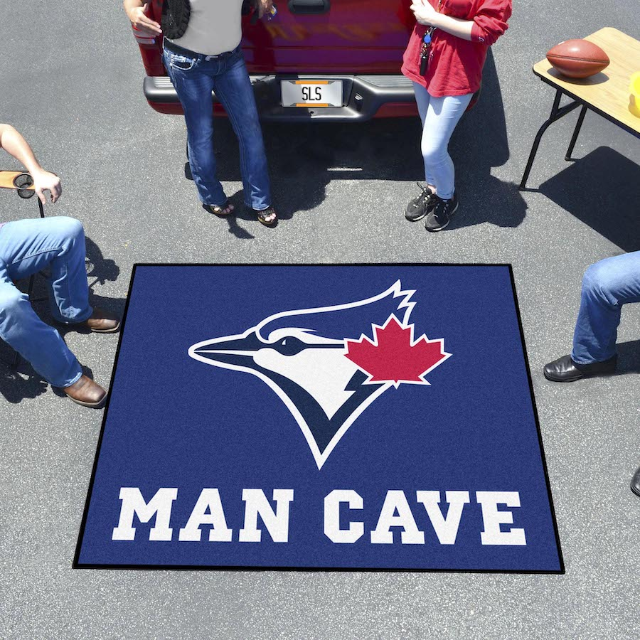 Toronto Blue Jays MAN CAVE TAILGATER 60 x 72 Rug