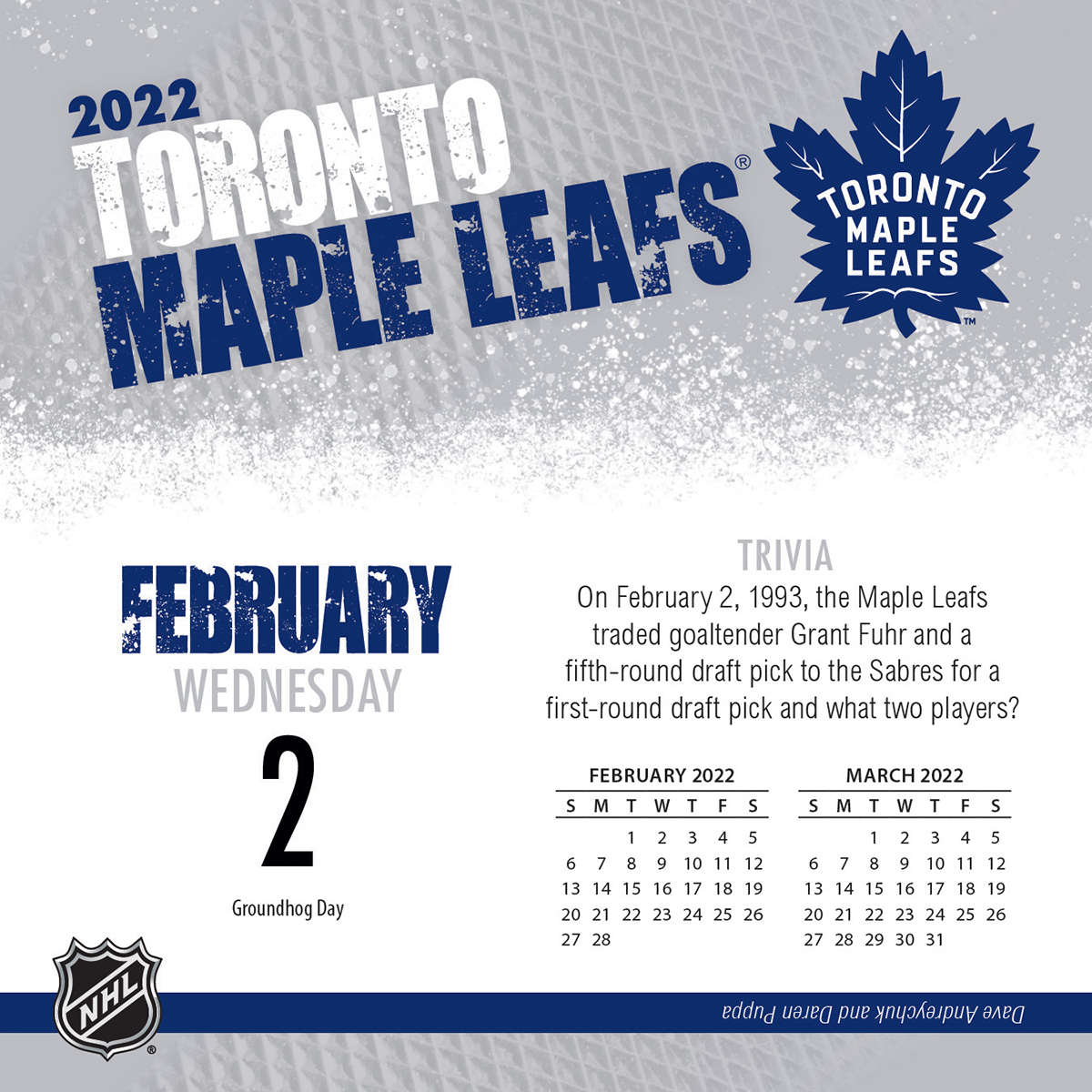 Toronto Maple Leafs 2019 Page-A-Day Box Calendar - Buy at ...