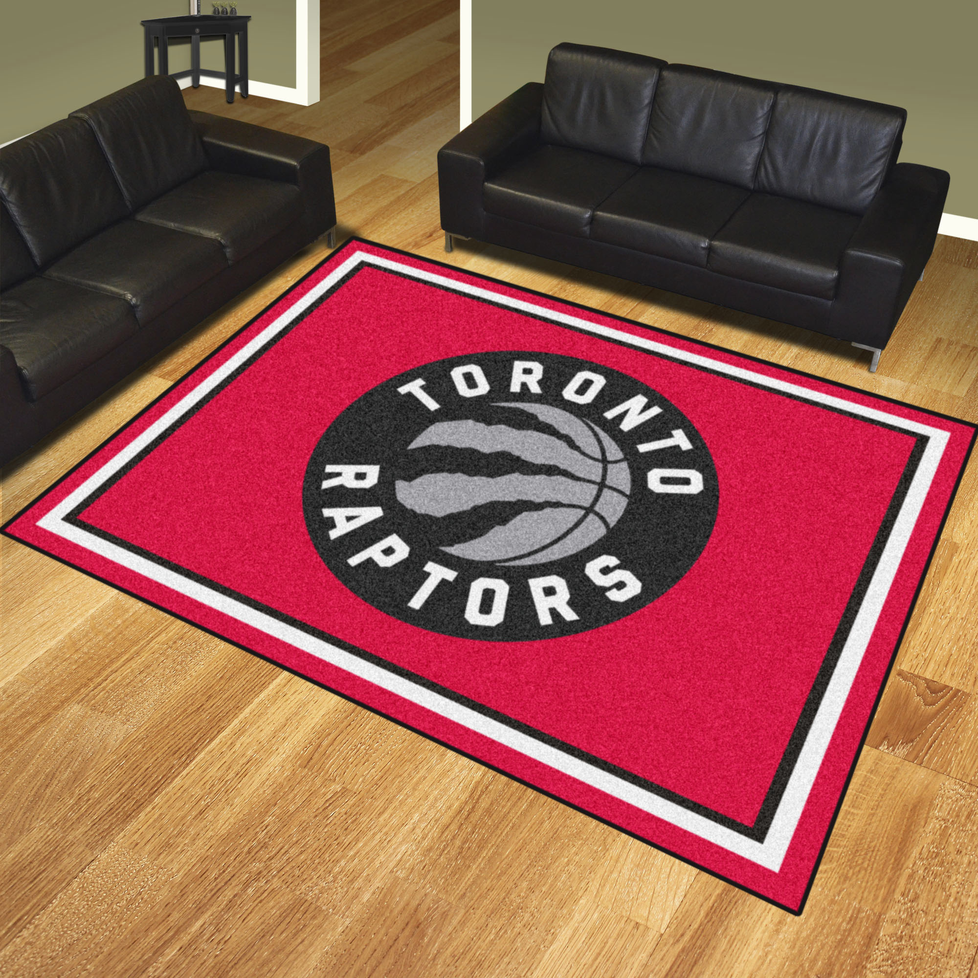 Toronto Raptors Ultra Plush 8x10 Area Rug