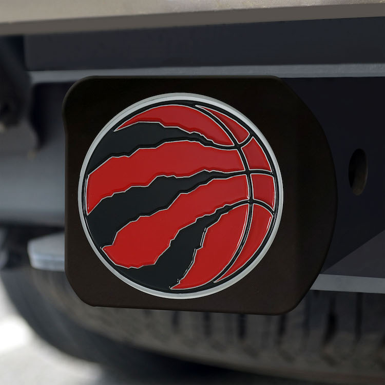 Toronto Raptors Black and Color Trailer Hitch Cover
