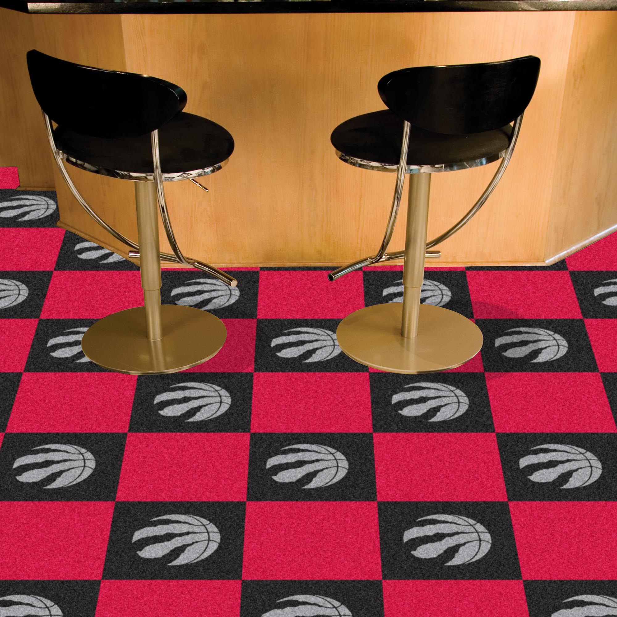 Toronto Raptors Carpet Tiles 18x18 in.