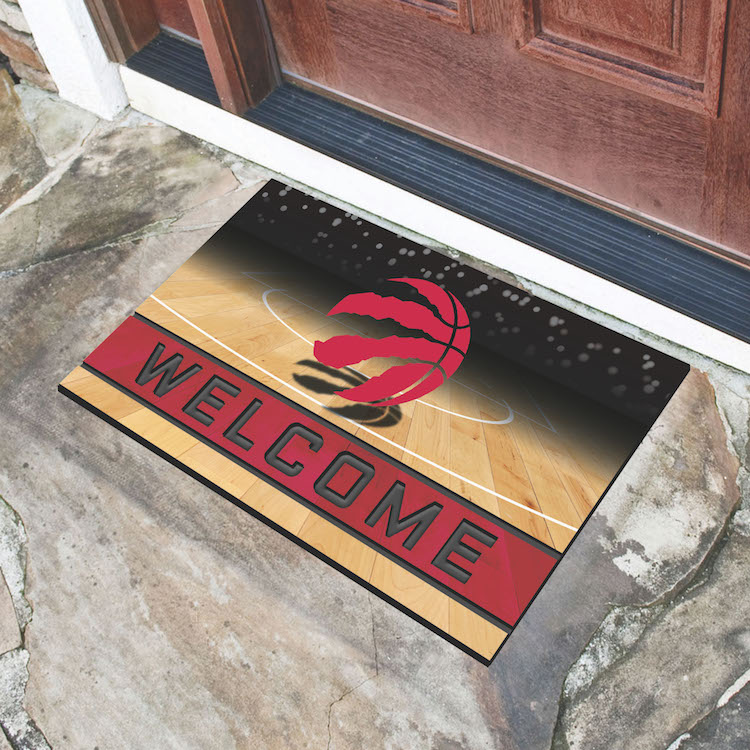 Toronto Raptors Recycled Crumb Rubber Door Mat