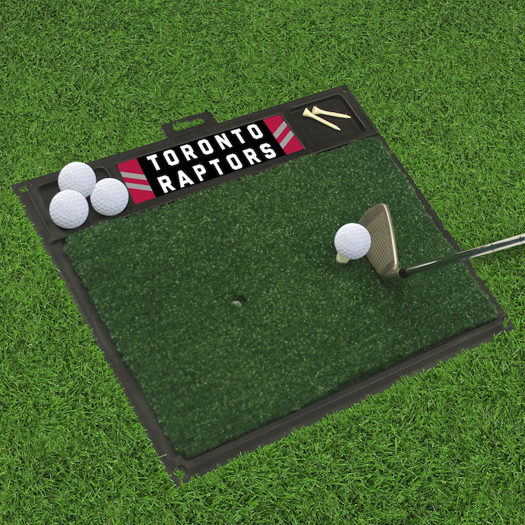 Toronto Raptors Golf Hitting Mat