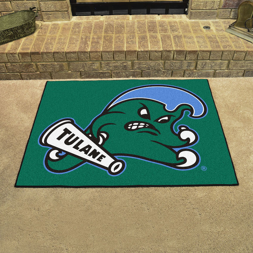 Tulane Green Wave ALL STAR 34 x 45 Floor Mat