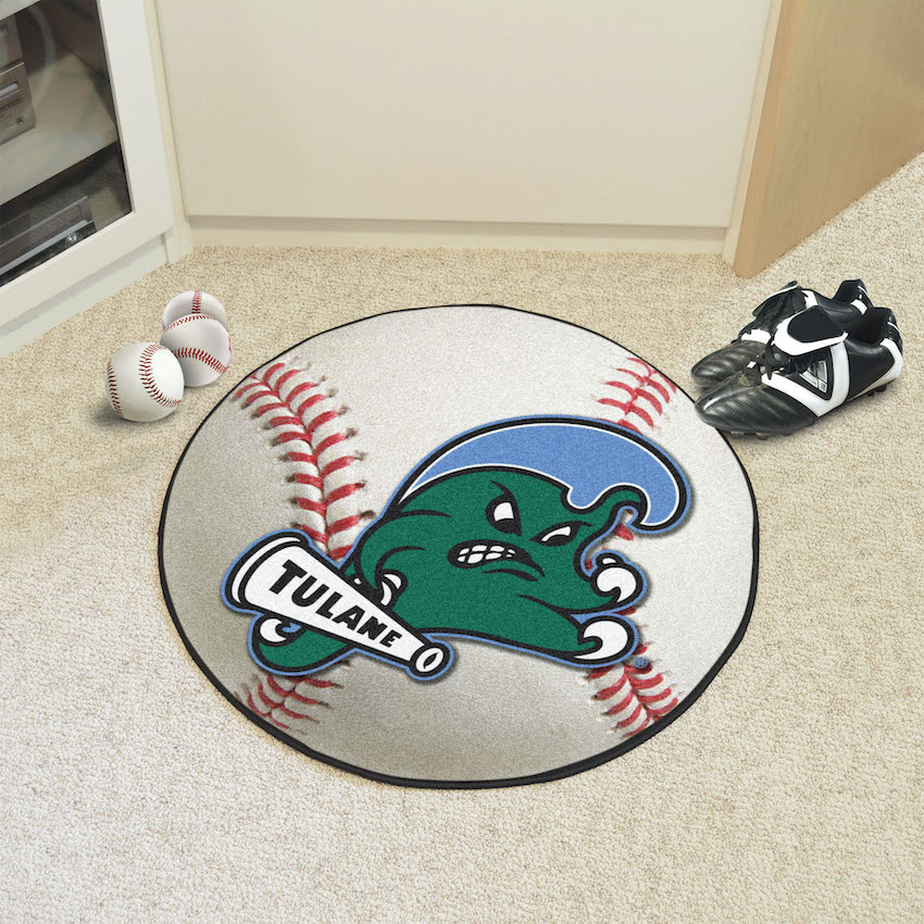 Tulane Green Wave BASEBALL Mat