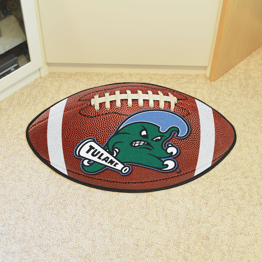 Tulane Green Wave 22 x 35 FOOTBALL Mat