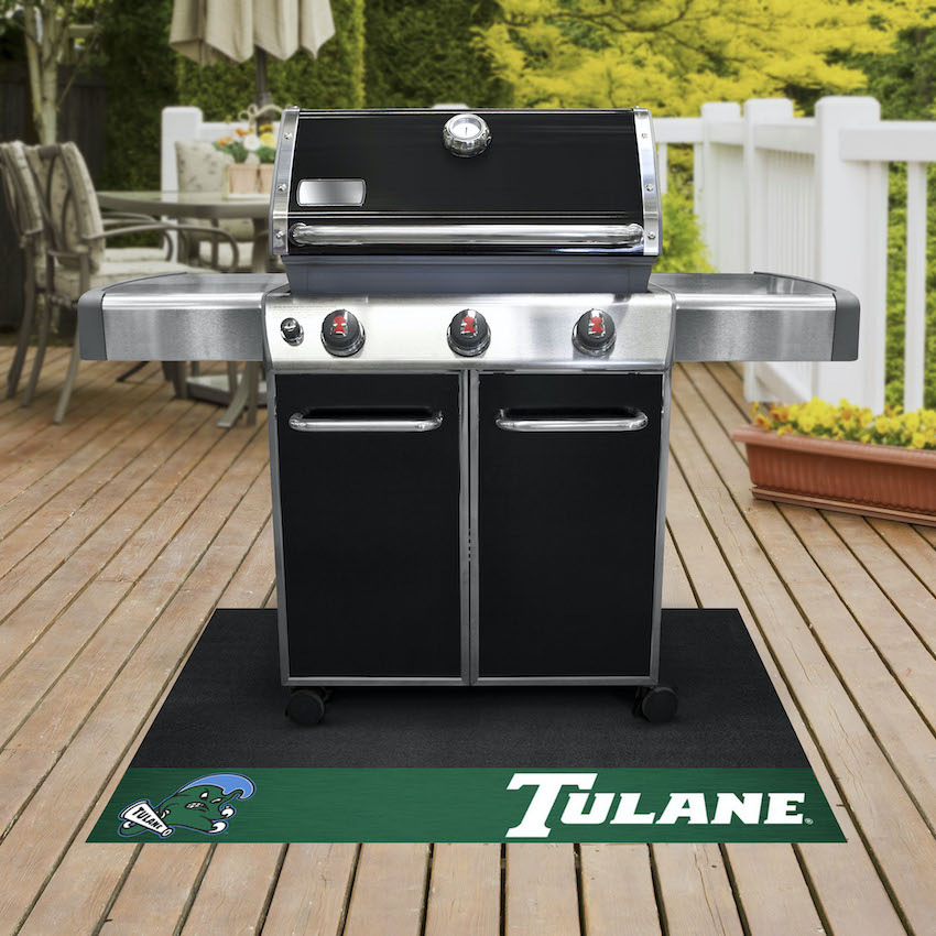 Tulane Green Wave NCAA Grill Mat