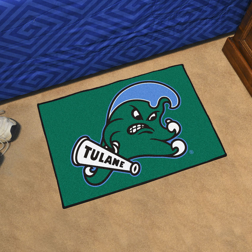Tulane Green Wave 20 x 30 STARTER Floor Mat