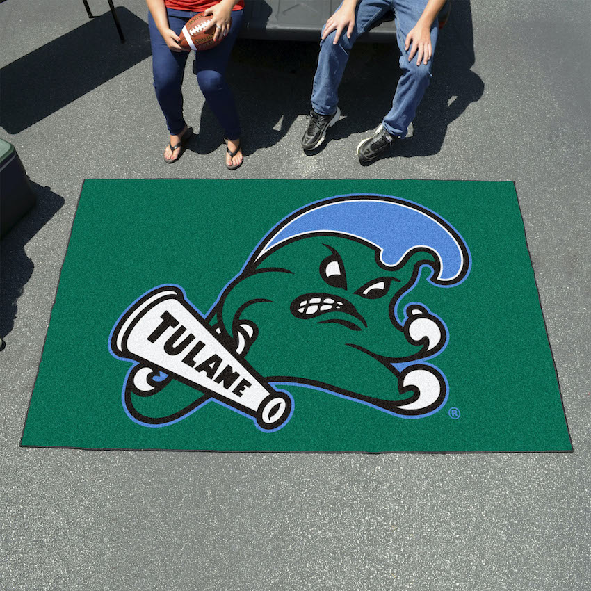 Tulane Green Wave TAILGATER 60 x 72 Rug