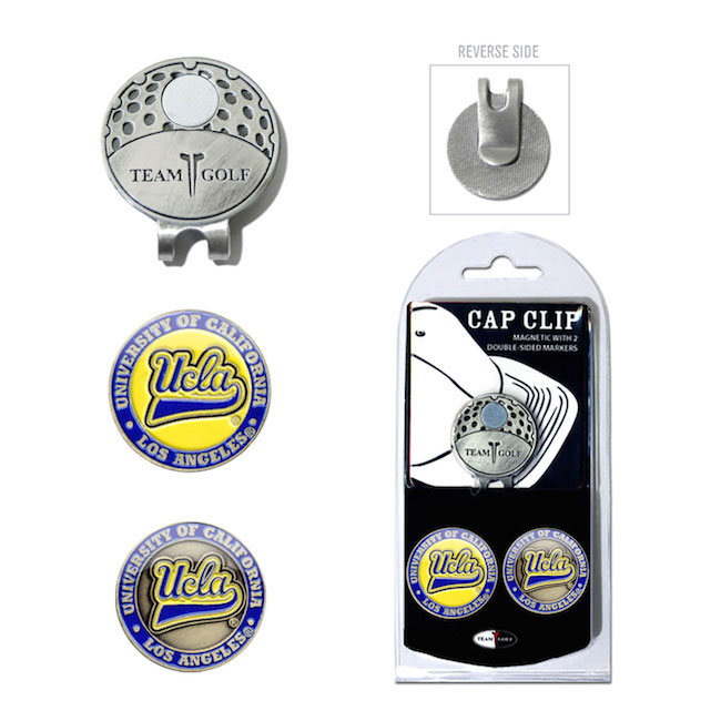 UCLA Bruins Hat Clip With 2 Ball Markers