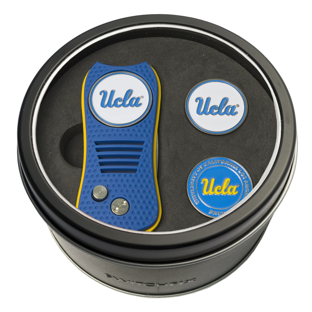 UCLA Bruins Switchblade Divot Tool and 2 Ball Marker Gift Pack