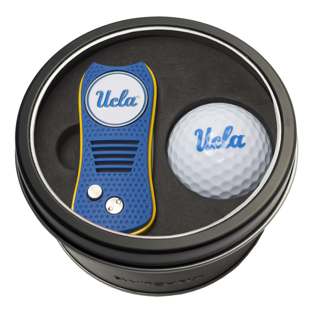 UCLA Bruins Switchblade Divot Tool and Golf Ball Gift Pack