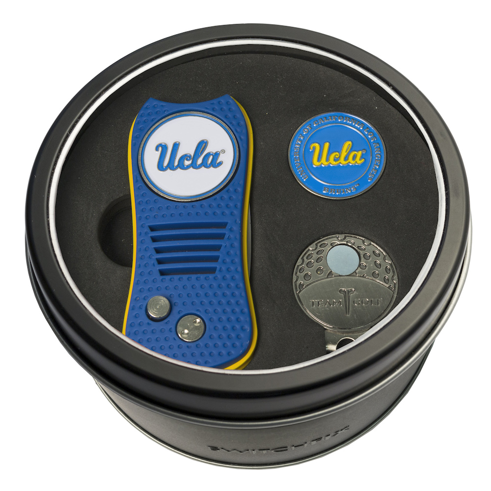 UCLA Bruins Switchblade Divot Tool Cap Clip and Ball Marker Gift Pack