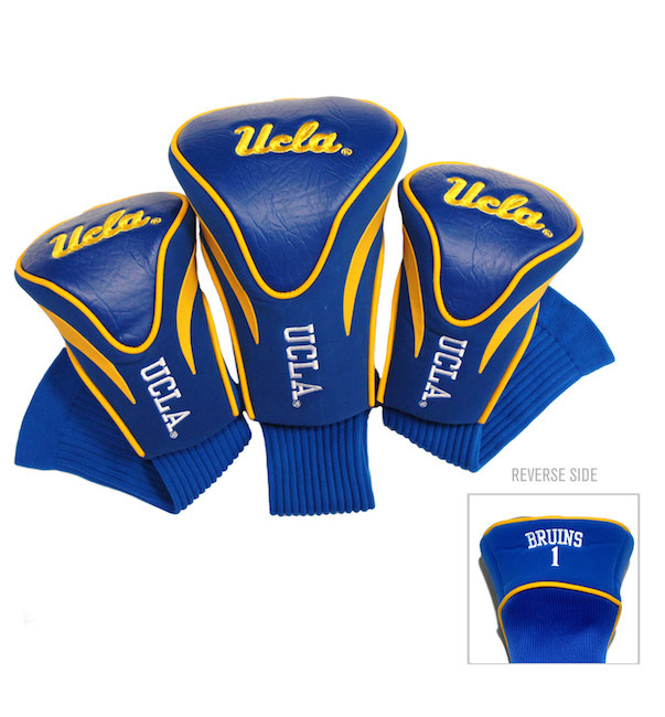 UCLA Bruins 3 Pack Contour Headcovers
