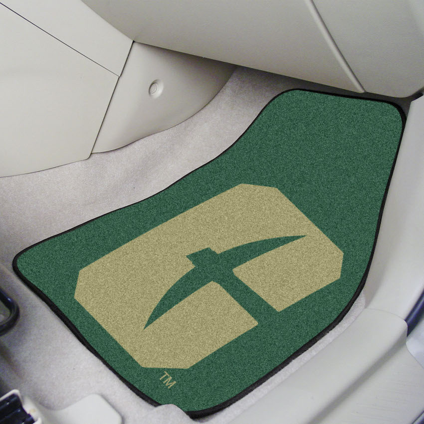 UNC Charlotte 49ers Car Floor Mats 18 x 27 Carpeted-Pair