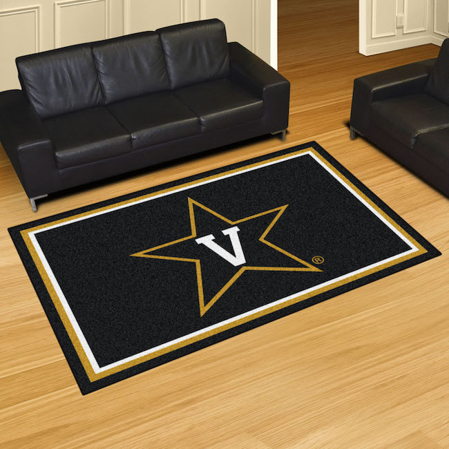 Vanderbilt Commodores 5x8 Area Rug