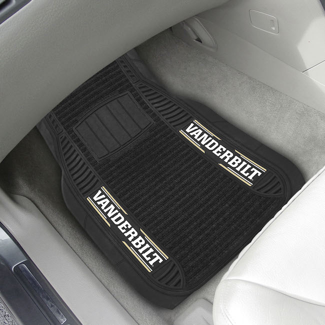 Vanderbilt Commodores Deluxe 20 x 27 Car Floor Mats