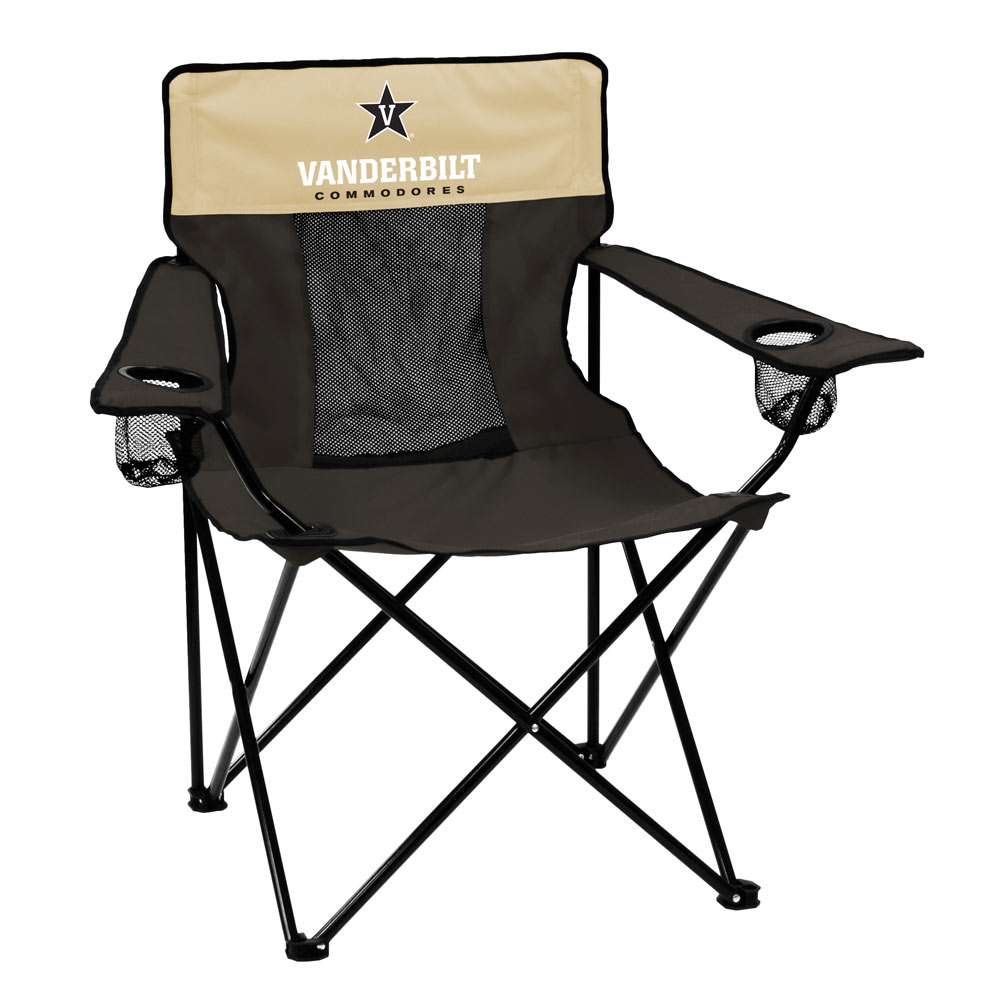 Vanderbilt Commodores ELITE logo folding camp style chair
