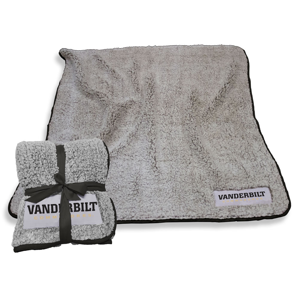 Vanderbilt Commodores Frosty Throw Blanket