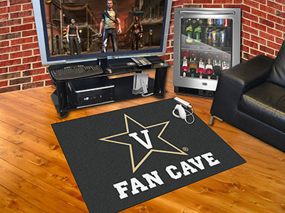 Vanderbilt Commodores ALL STAR 34 x 45 MAN CAVE Floor Mat