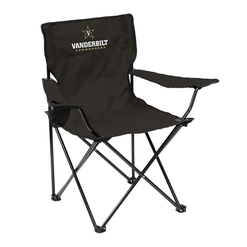 Vanderbilt Commodores QUAD style logo folding camp chair