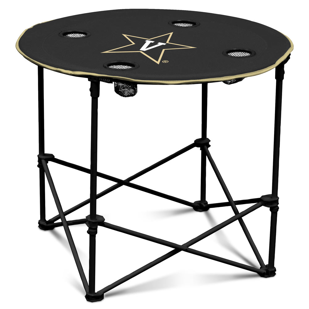 Vanderbilt Commodores Round Tailgate Table