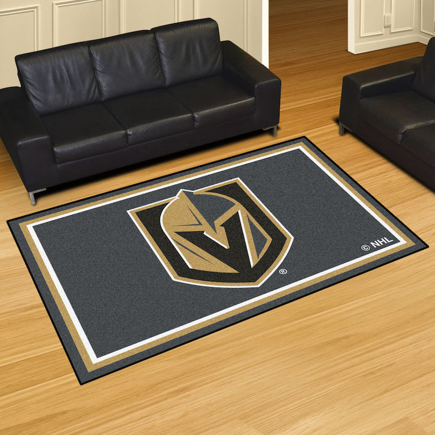 Vegas Golden Knights 5x8 Area Rug