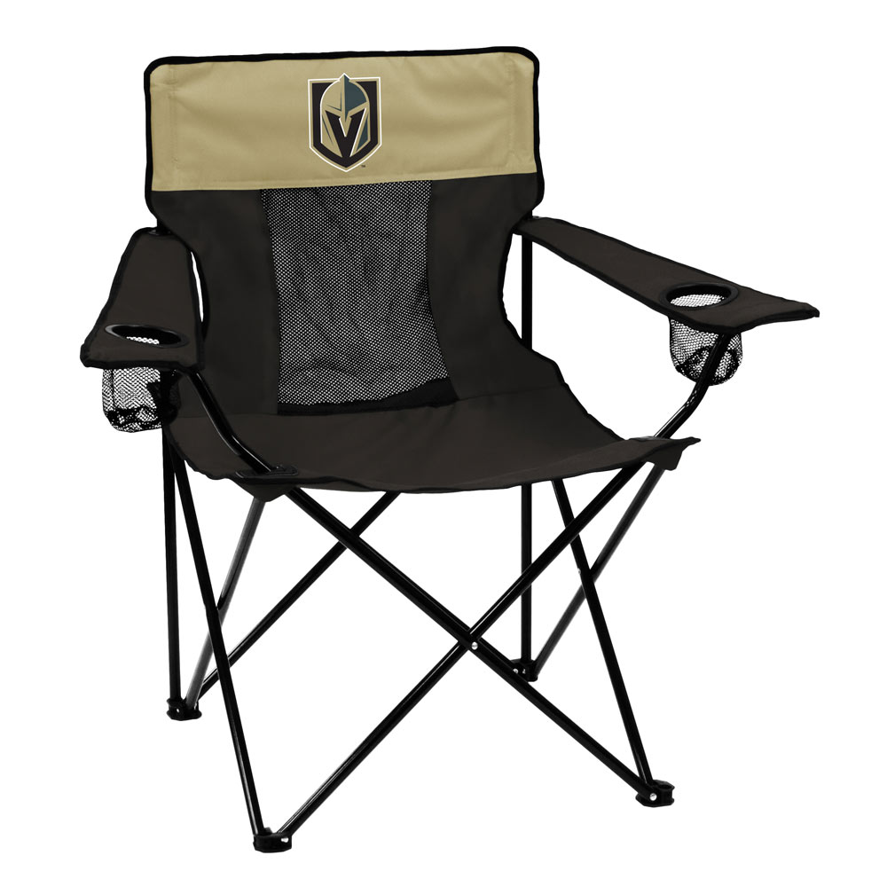 Vegas Golden Knights ELITE logo folding camp style chair