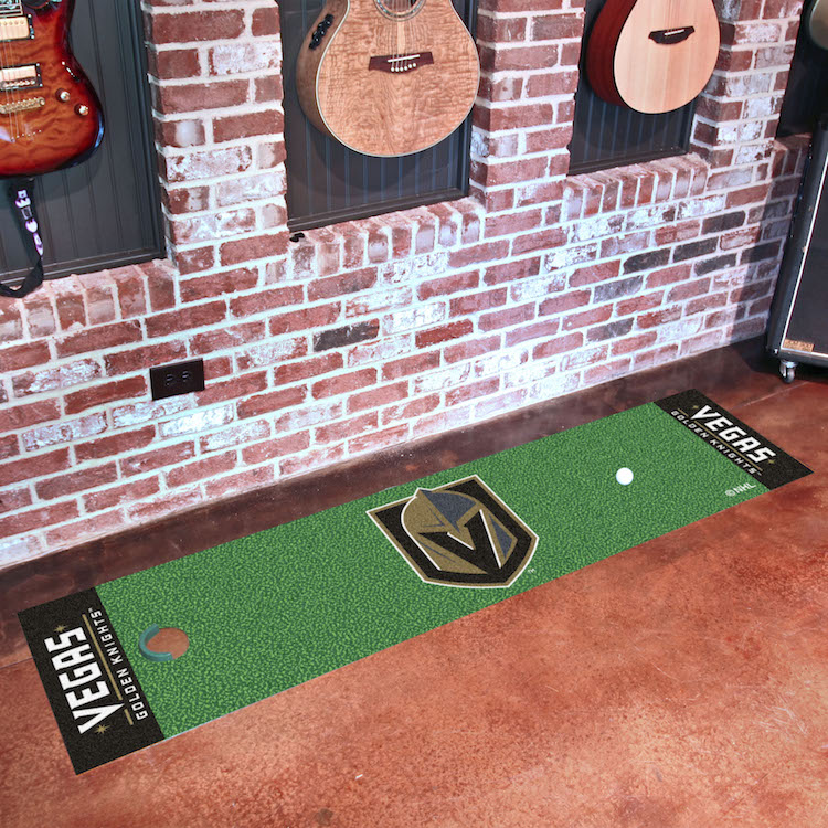 Vegas Golden Knights Putting Green Mat 18 x 72