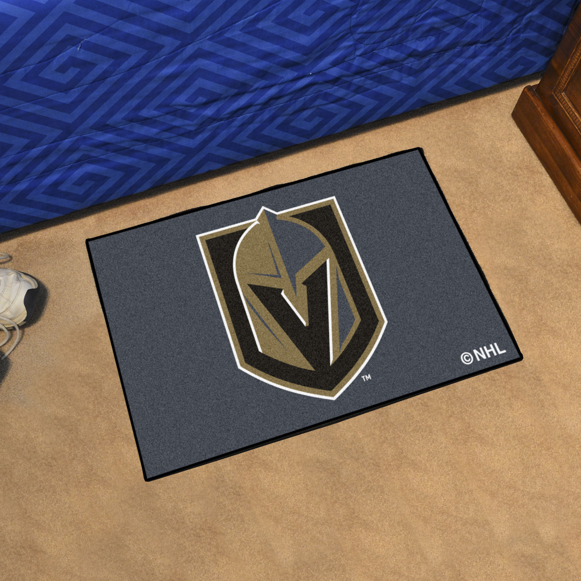 Vegas Golden Knights 20 x 30 STARTER Floor Mat