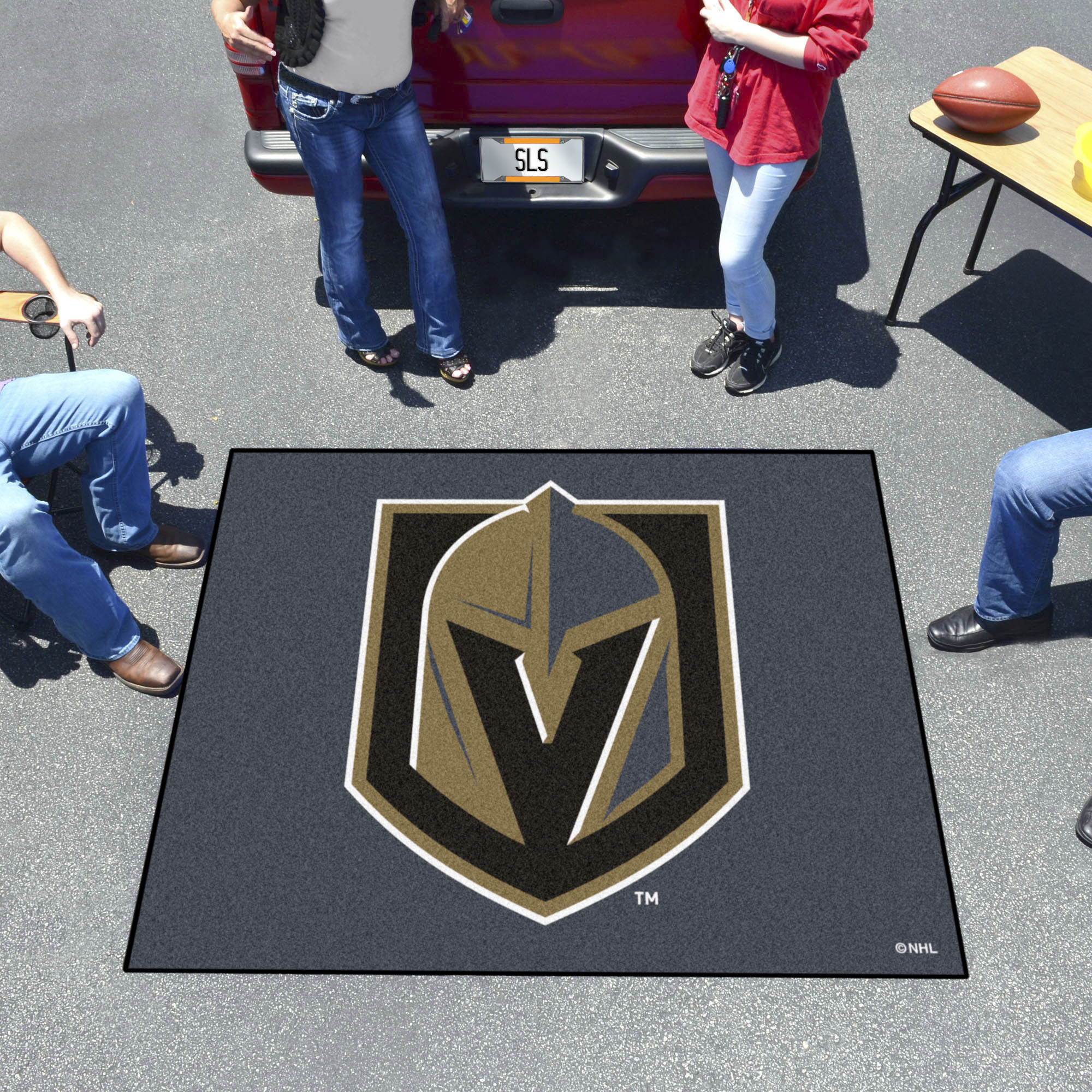 Vegas Golden Knights TAILGATER 60 x 72 Rug