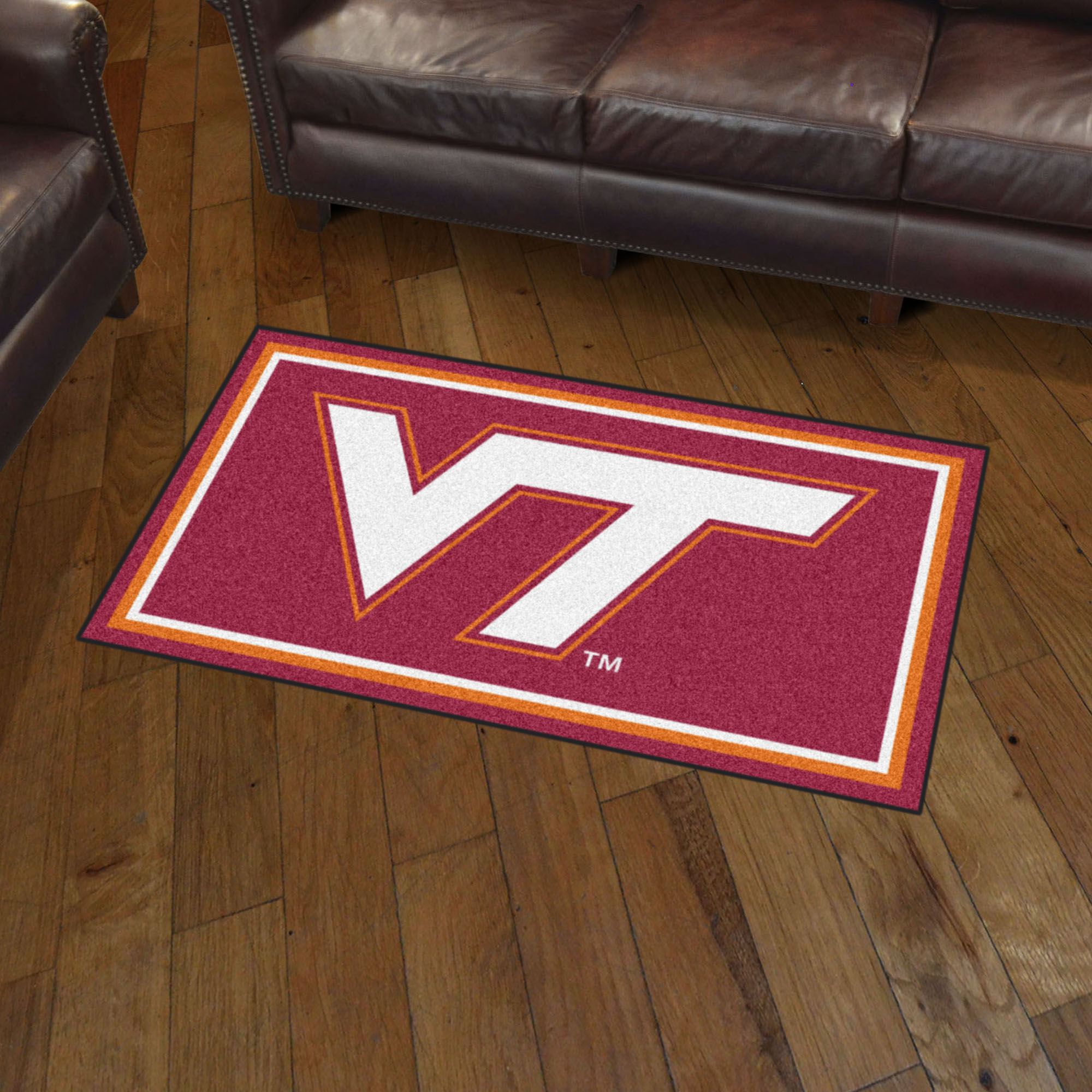 Virginia Tech Hokies 3x5 Area Rug