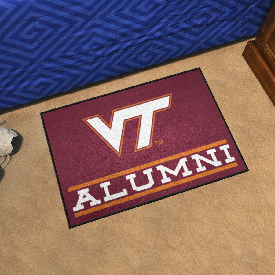 Virginia Tech Hokies ALUMNI 20 x 30 Starter Floor Mat