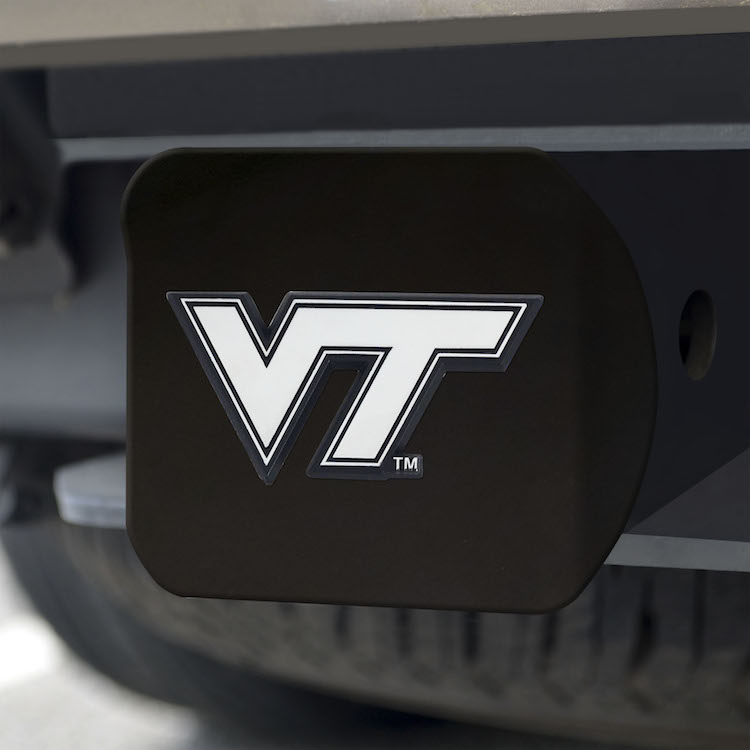 Virginia Tech Hokies BLACK Trailer Hitch Cover