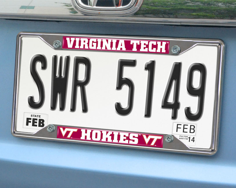 Virginia Tech Hokies License Plate Frame