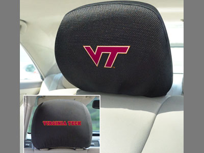 Virginia Tech Hokiess Head Rest Covers