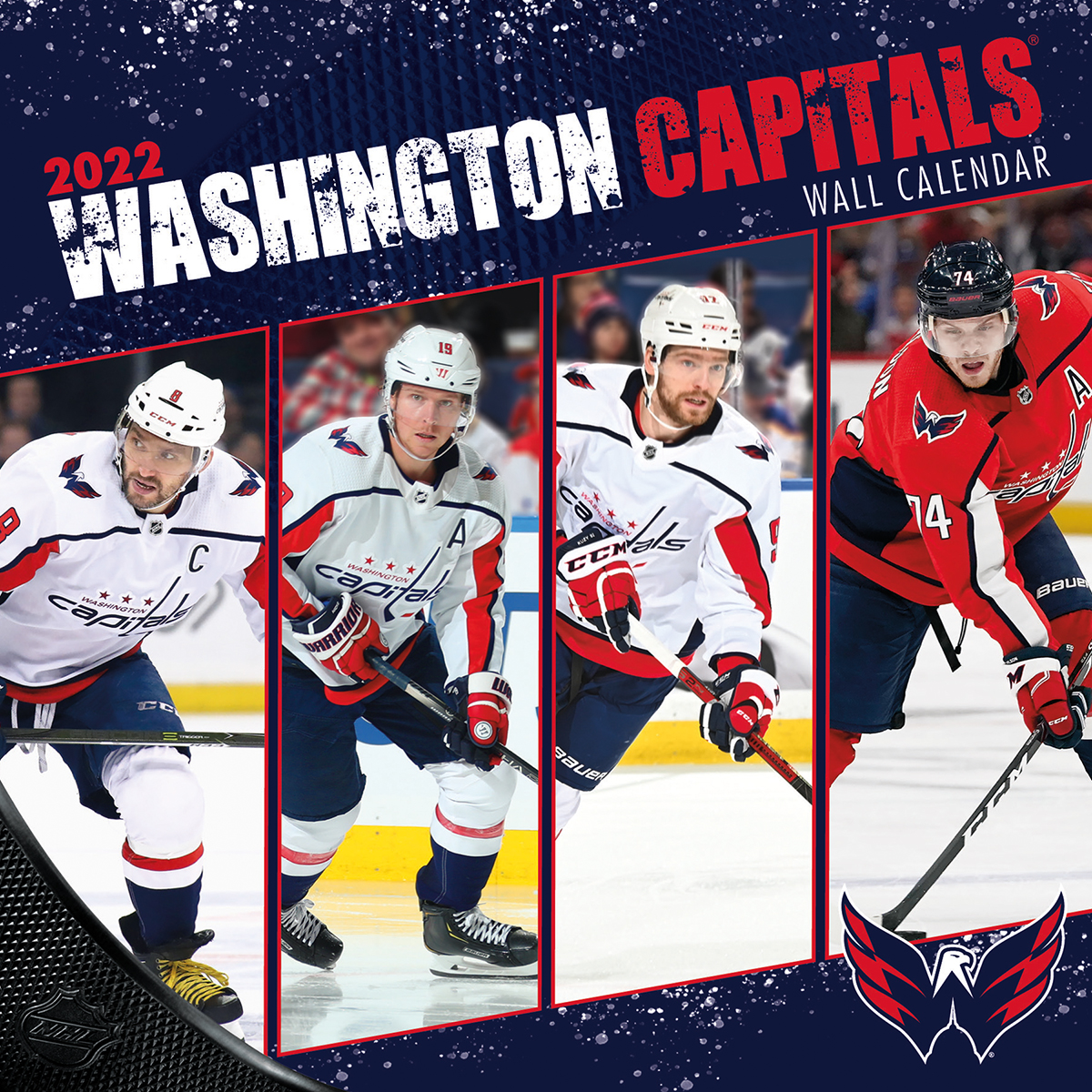 Washington Capitals 2018 Nhl Wall Calendar Buy At Khc Sports