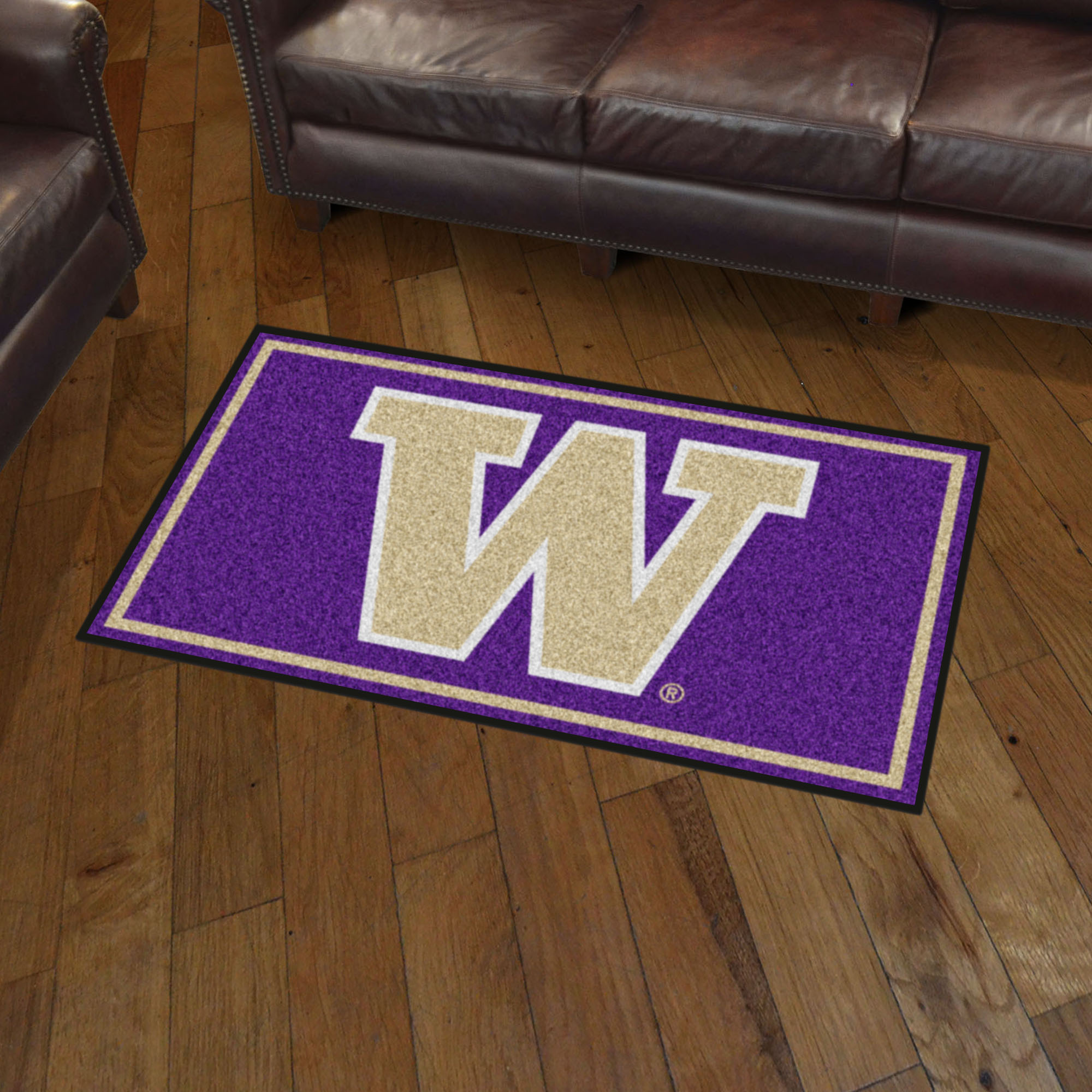 Washington Huskies 3x5 Area Rug